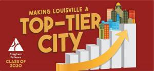 "Bingham Fellows 2020 topic, ""Making Louisville a Top-Tier City"""