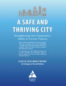Download the 2018 Bingham Fellows Impact Report