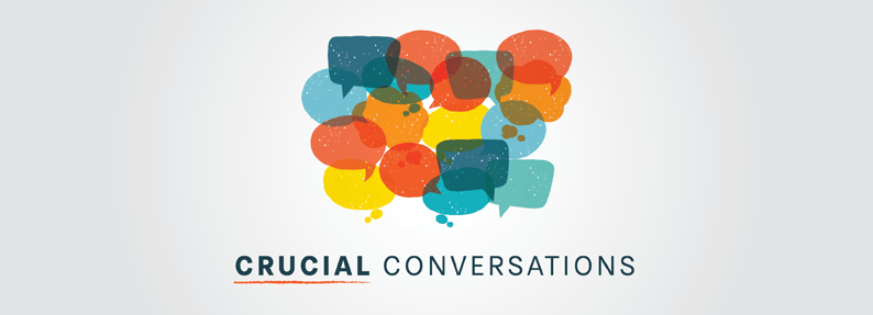 Crucial Conversations is a 2-day professional development course that helps individuals at all levels of an organization navigate difficult conversations, and get the results they want.