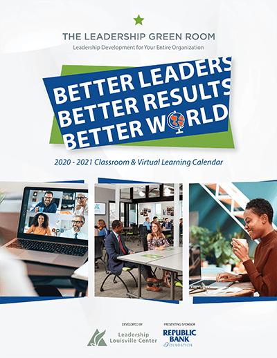 Leadership Green Room Catalog - July - Dec 2020