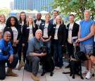 Fall 2017 Ignite Louisville team who worked with Dogs Helping Heroes