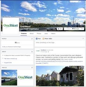 Follow OneWest on Facebook