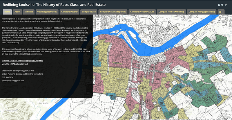 Redlining Louisville: The History of Race, Class, and Real Estate