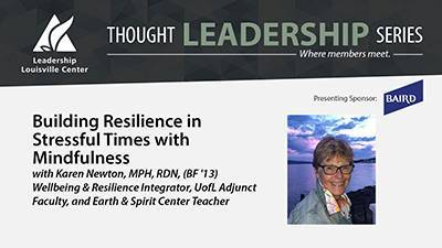 Building Resilience in Stressful Times with Mindfulness