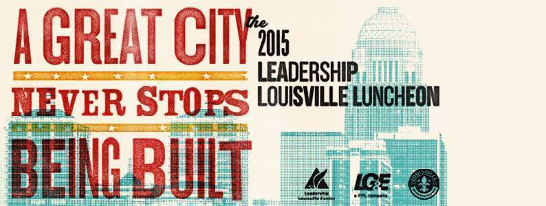 2015 Leadership Louisville Luncheon